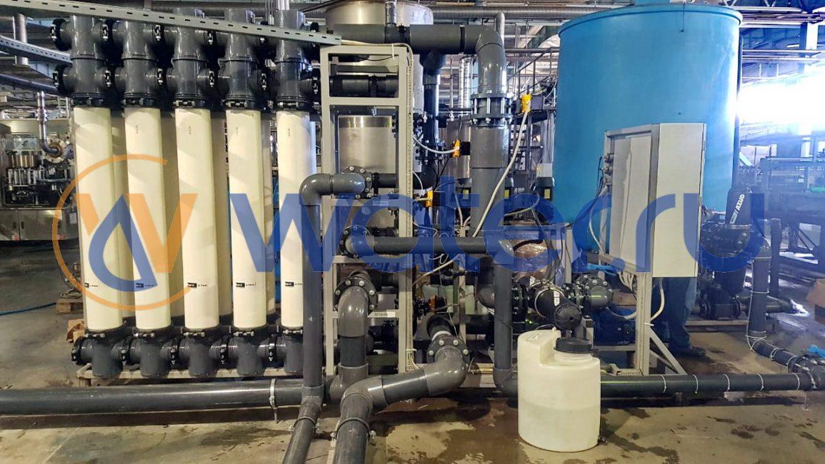 Система ультрафильтрации воды